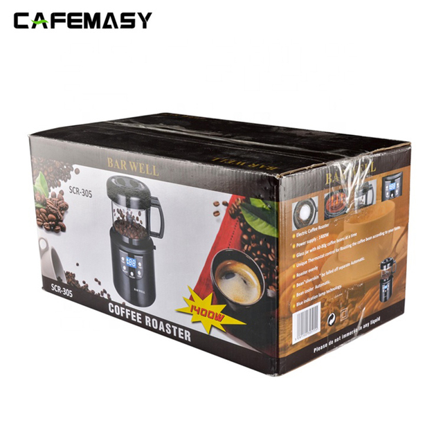 220V Coffee Accessories Home  Coffee Roasting Machine Household Baking Roasted Bean Machine Coffee Roaster 80g 6