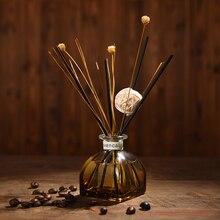 Домашний диффузор с ароматом эфирного масла Ароматерапия Арома набор автомобильных палочки из ротанга, гостиной, офиса, без пожаротушения, портативный