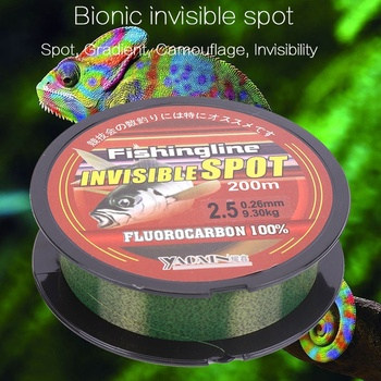 Invisible Nylon Fishing Line Wire Fluorocarbon Coated Spotted Carp Fishing Line Strong Wear-Resistant Fishing Leader pesca subma fishing line 500m super strong 100% transparent nylon not fluorocarbon fishing tackle non linen multifilament pesca carp fishing