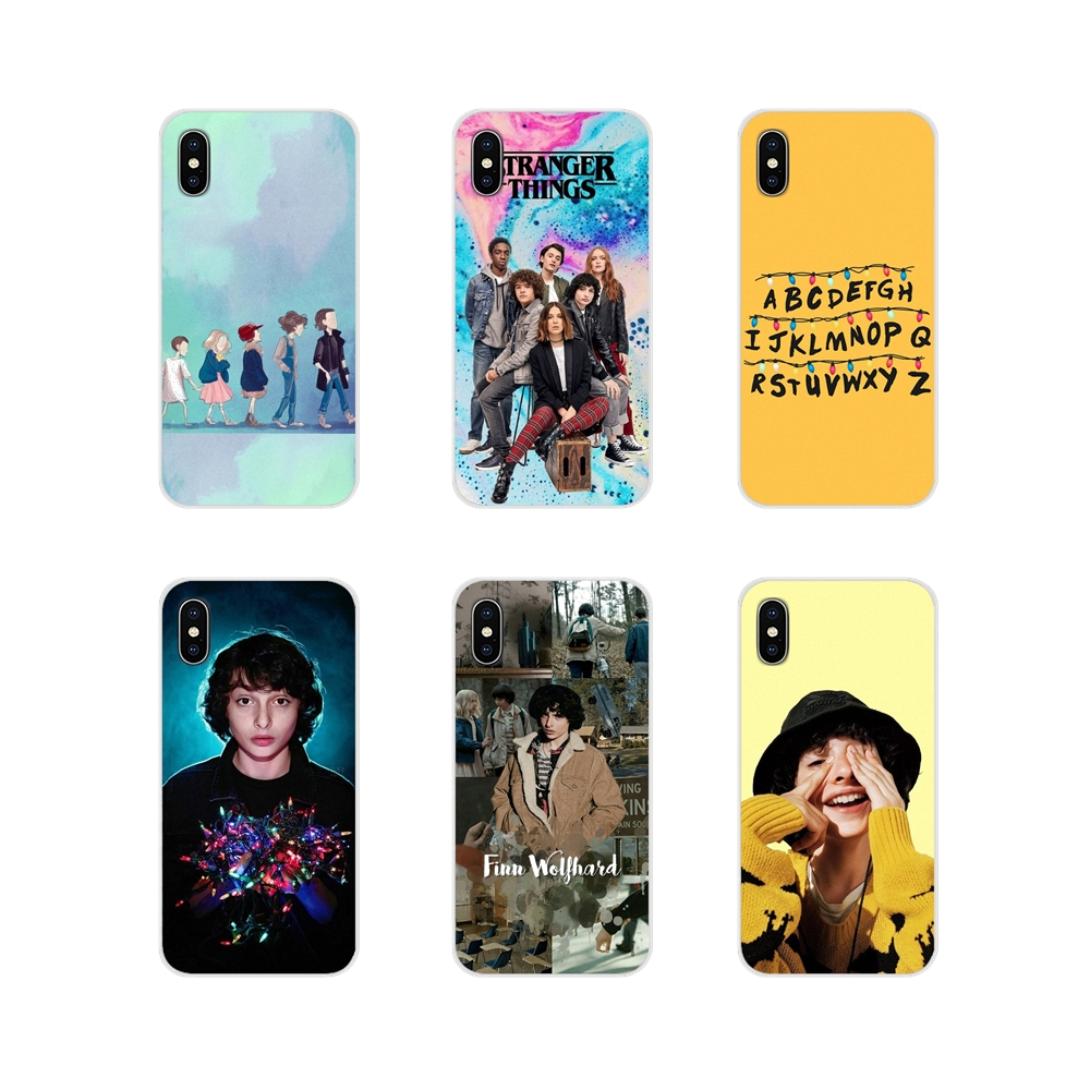 For Samsung Galaxy A3 A5 A7 A9 A8 Star A6 Plus 2018 2015 2016 2017 Transparent Soft Cases Cover TV Finn Wolfhard Stranger Things image
