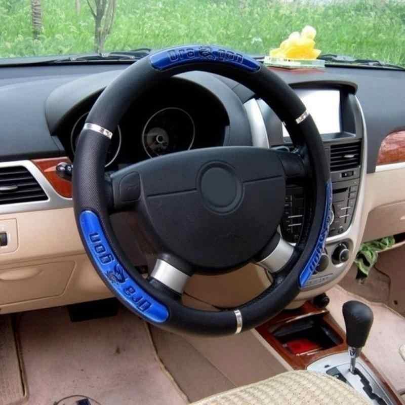 Housse de volant de voiture accessoires de voiture rose housse de volant en fourrure