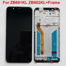 """الإطار ل 5.99 """"ASUS ZenFone ماكس برو M1 ZB601KL ZB602KL شاشة LCD عرض محول رقمي يعمل باللمس مع الإطار الأصلي lCD"""