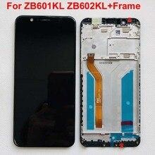 """+ Khung Cho 5.99 """"ASUS Zenfone Max Pro M1 ZB601KL ZB602KL Màn Hình LCD + Bảng Điều Khiển Cảm Ứng Bộ Số Hóa Màn Hình Hiển Thị có Khung Ban Đầu Màn Hình LCD"""