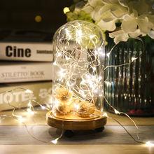 2 м 3 5 10 светодиодные гирлянды праздничные для рождества свадьбы