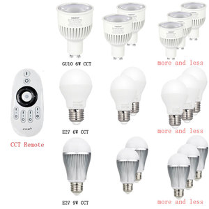 Image 3 - Milight miboxer 2.4グラムled電球、MR16 GU10 E14 E27 ledランプスマートワイヤレス4ワット5ワット6ワット9ワット12ワットcct/rgbw/rgbww/rgb + cct ledライト