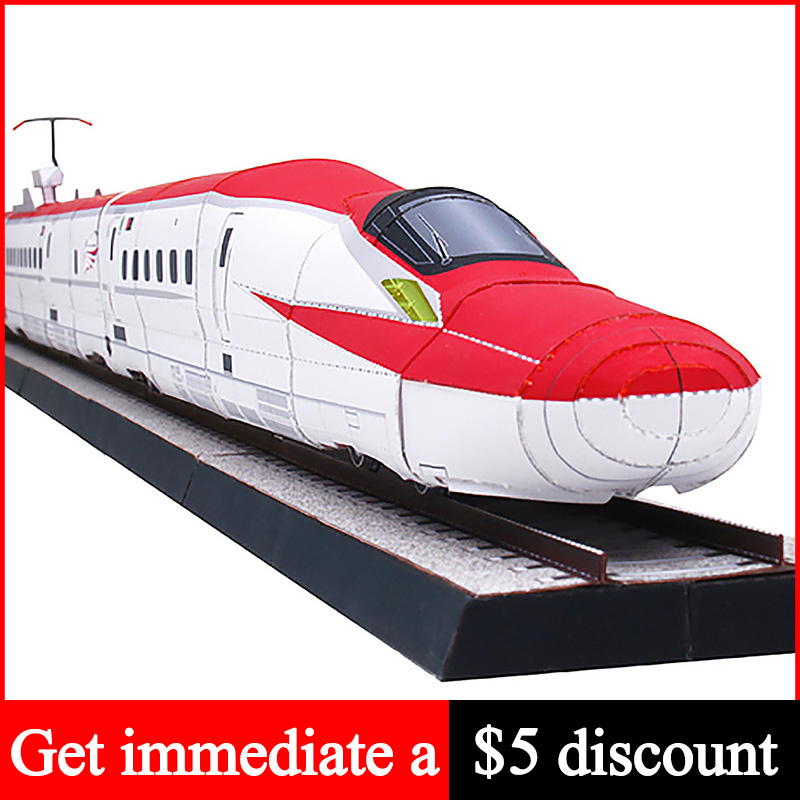 23/09/2018· in this video you will see how to make a paper folding train.you can buy this at new delhi railway station at pf1 at souvenir shop.hello my name is divy. Buy Shinkansen Series E6 Komachi Realistic Version Train Locomotives Handmade 3d Paper Model Papercraft Diy Adult Craft Toys Zx 054 Cicig