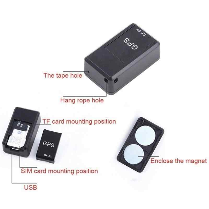 スマートミニgpsトラッカー車のgpsロケータ強力なリアルタイム磁気小型gps追跡装置車のオートバイトラックキッズティーンズ歳