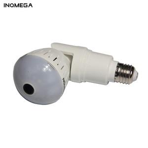 Image 4 - INQMEGA 1080P 360 Degree HD Panoramic Wifi IP Camera Light Bulb Home Security Video VR Camera V380 Wireless WiFi Kamera Indoor