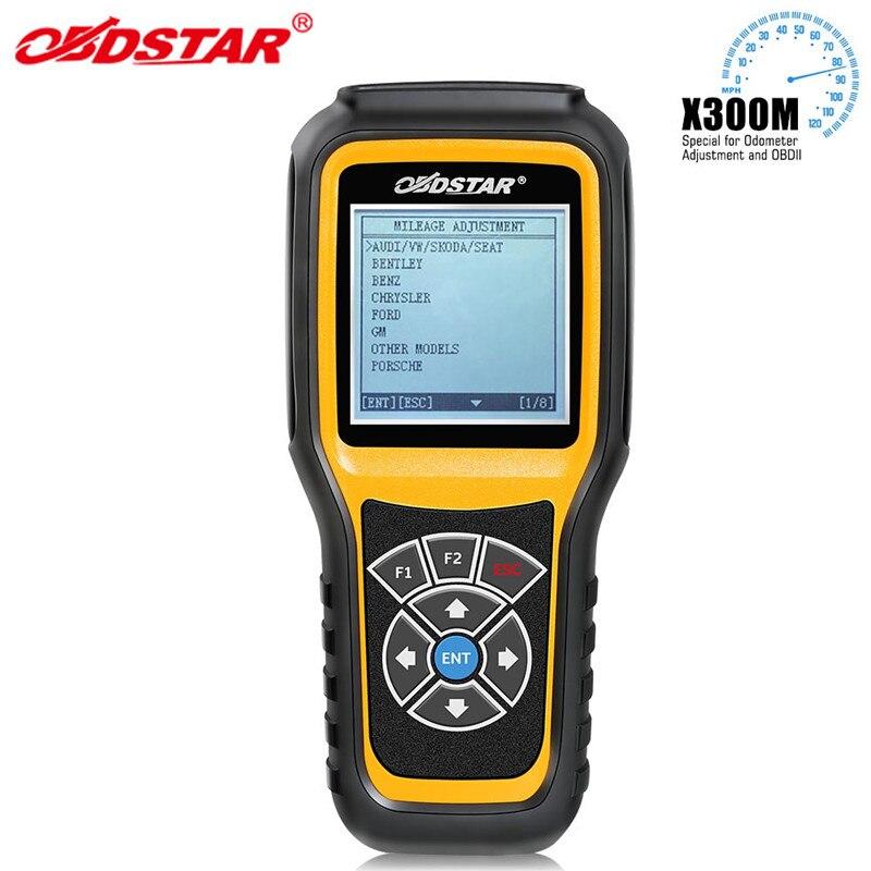 Obdstar x300m odômetro ajuste e suporte obdii para benz ferramenta de correção de quilometragem x300 m adicionar para fiat/volvo e modelos mqb