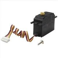 Обновление 25 г металлический сервопривод для Wltoys 12428 12423 12628 пульт дистанционного управления автомобиля Rc