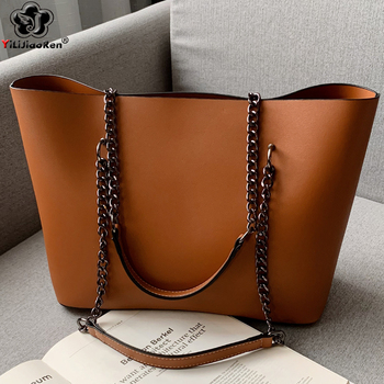 цены Casual Handbags Women Bags Designer Chain Shoulder Bag Famous Brand Leather Ladies Handbag Large Capacity Tote Bag Sac A Main