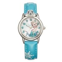 Luxury Cartoon Children Watch Kids Watches Girls Princess Fashion Wrist Watches Kids Cute Leather Quartz Watch Girl