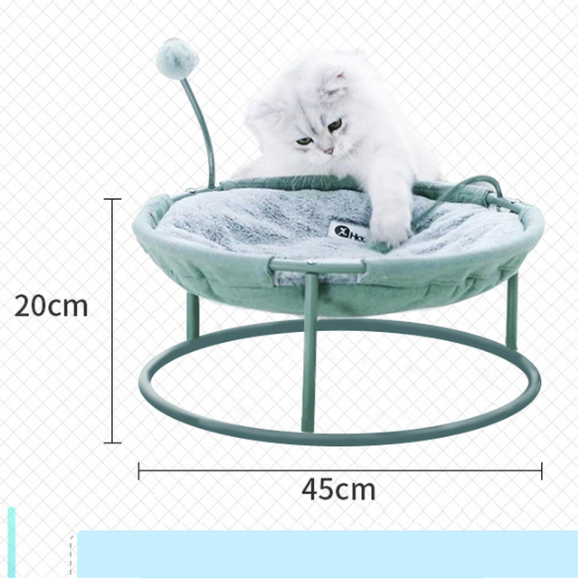 Hot Sale Pet Hammock Cats Beds Indoor Cat House Mat for Warm Small Dogs Bed Kitten Window Lounger Cute Sleeping Mats Products 5