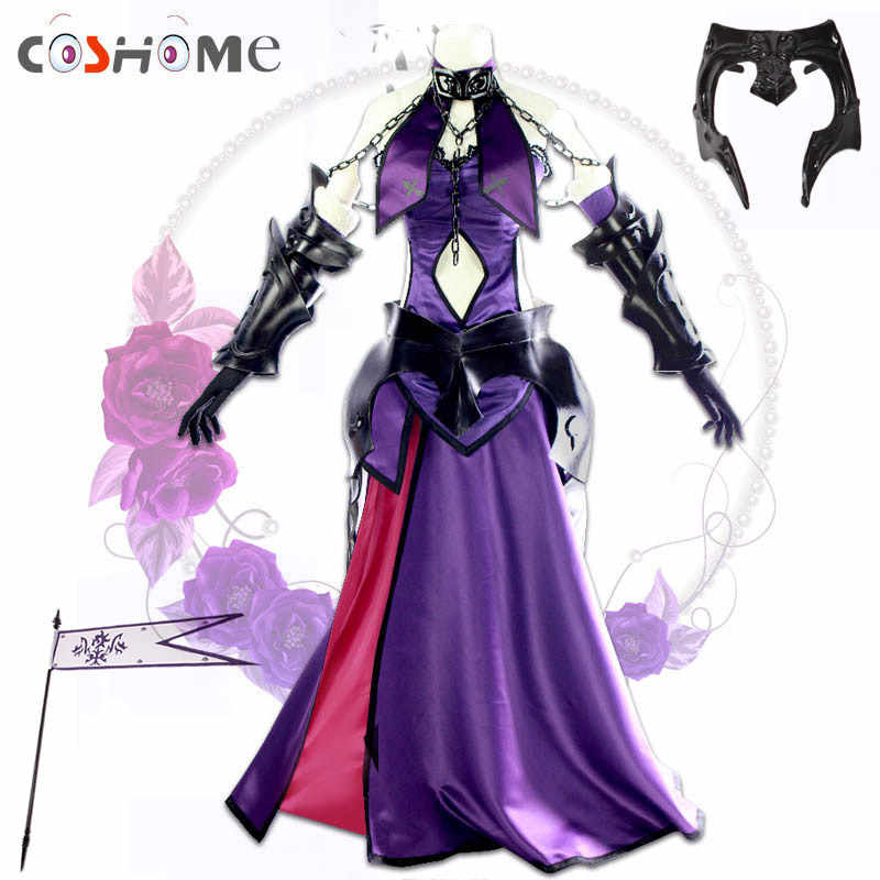 Coshome Fate Grand Order Jeanne d'arc (Alter) Cosplay Kostuum Vrouwen Jurk voor Halloween Party