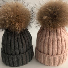 Повседневная новая зимняя шапка lvtzj шапки с помпонами из натурального