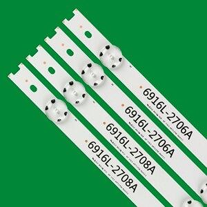Image 2 - חדש LED תאורה אחורית רצועת עבור 49UH6210 49UH610A 49UH610T 49UH610V 49UH617T 49UH617V 49UH617Y 49UW340C 49UH6100 49LF510V AGF7904720