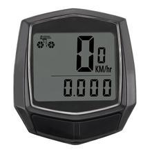 Bike Computer Cycling Computers Bicycle Speedometer Wireless Waterproof Stopwatch Odometer LCD Backlight Bike Accessories цена 2017