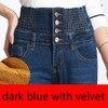 blue with velvet
