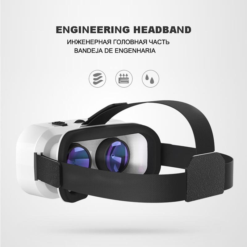 VR Shinecon Helmet 3D Glasses Virtual Reality For Smartphone Smart Phone Headset Goggles Casque Wirth Viar Binoculars Video Game 3