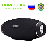 EStgoSZ HOPESTAR H20 Wireless portable Bluetooth Speaker 30W Waterproof Best Bass Outdoor Effect with Power Bank USB Mobile AUX