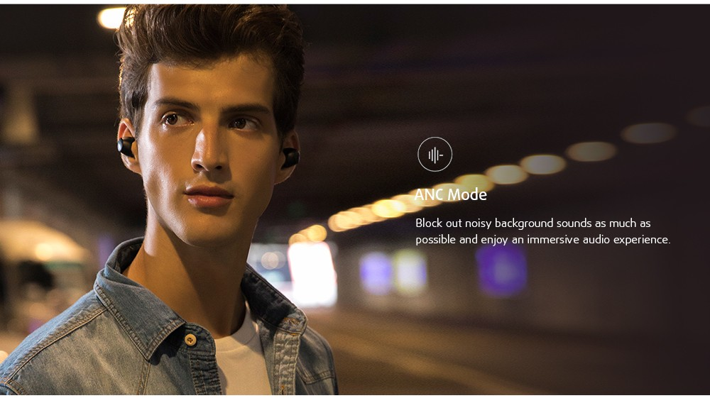 HAYLOU T16 Bluetooth Headphone ANC Mode