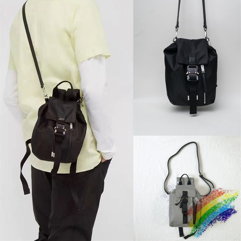 3M Reflective ALYX Satchel Crossbody Bag Best-Quality Metal Buckle ALYX Backpack Functional Tactical ALYX Bags