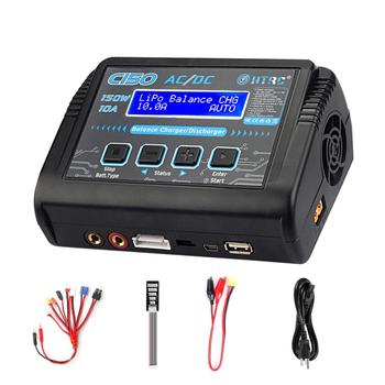 Hot Sale HTRC C150 Lipo Charger Battery Rc AC/DC 150W 10A RC Balance Discharger for LiPo LiHV LiFe Lilon NiCd NiMh Pb Battery 7 2v 250mah with tamiya connectors usb charger units for nicd nimh battery pack charger for toy rc car tank boat for ket 2p plug
