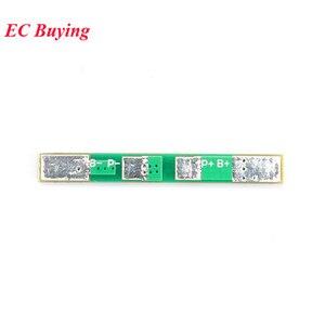 Image 4 - 100pcs 1S 3.7V 2A li ion BMS PCM 18650 Lithium Batterij Bescherming Boord Overbelasting over ontlading Korte circuit PCB ion li Mobiele