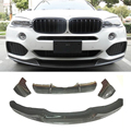 M-P-Style Carbon fiber Bumper Front lip Rear Diffuser 1 Set For BMW X5 F15