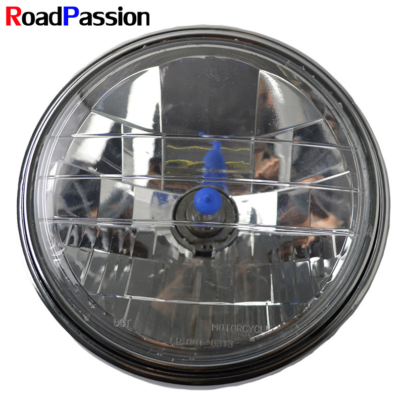 Motorcycle <font><b>Headlight</b></font> Head Front Light Lamp For <font><b>HONDA</b></font> CB400 CB500 CB1300 <font><b>VTR250</b></font> CB250 VTEC400 ROAD PASSION Motorcycle Accessories image