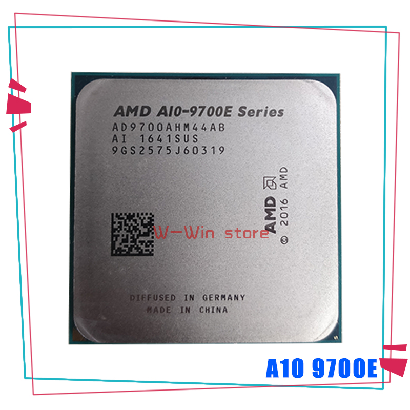 AMD A10-Series A10-9700E A10 9700E 3.0 GHz Quad-Core CPU Processor AD9700AHM44AB Socket AM4 Satmak A10 9700