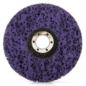 Dropship 2pcs 125mm 115mm 5 Inch 46Grit Grinding Disc Wheel for Angle Grinder Abrasive Tools Purple Black Blue dropping