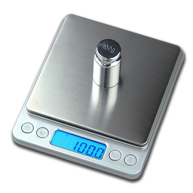Practical LED Digital Kitchen Scales Portable Electronic Scales Multifunctional Jewelry Food Diet Scale Weight Balance Tool