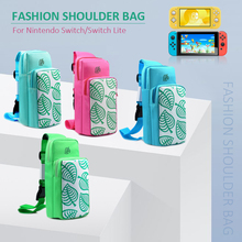 Novo animal crossing carring caso para nintendo switch bolsa de ombro portátil proteger joy con console acessórios de jogo
