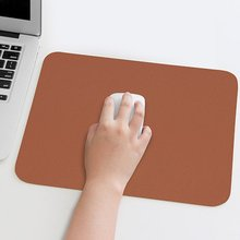 Large Double sided Mouse Pad 30x40CM Solid Color Simple Leather Desk PU Waterproof Cute Mat