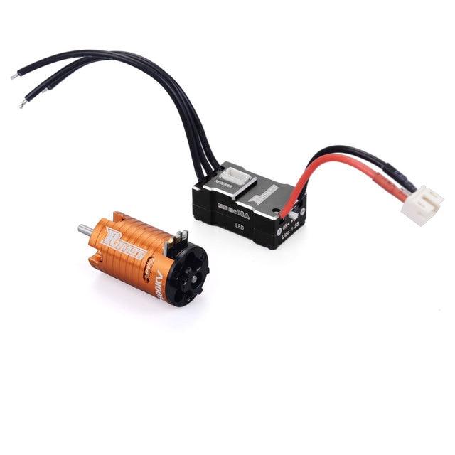 Surpass Hobby ROCKET 1410 MINIZ Motor + 18A ESC Set 5 Colors RC Car Parts Remote Control Vehicle Accessories