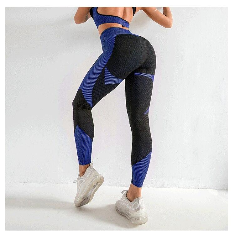 Calças de yoga apertadas hip levantamento collants