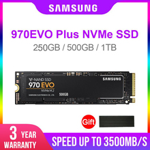 Samsung SSD 970 EVO Plus 250GB 500GB 1TB  NVMe M.2 2280 NVMe Internal SSD Solid State Hard Disk SSD PCIe 3.0 x4, NVMe 1.3 laptop