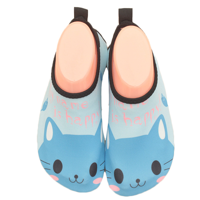 Summer Water Shoes Kids Upstream Aqua Shoes Girls Boys Swimming Diving Socks Barefoot Beach Slippers Outdoor River Sandals