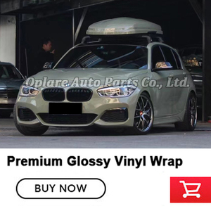 Image 4 - Newest Highest quality  Car wrapping Glossy combat green Vinyl Wrap Gloss Wrap Film Armor green vinyl wrap quality Warranty
