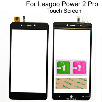 Touch Screen For Leagoo Power 2 Pro Touch Screen Digitizer Touch Front Glass Panel Repair Phone Tools 3M Glue 6 1 touch screen for ulefone note 7 s11 touch panel touch screen digitizer sensor repair touch glass lens tools 3m glue