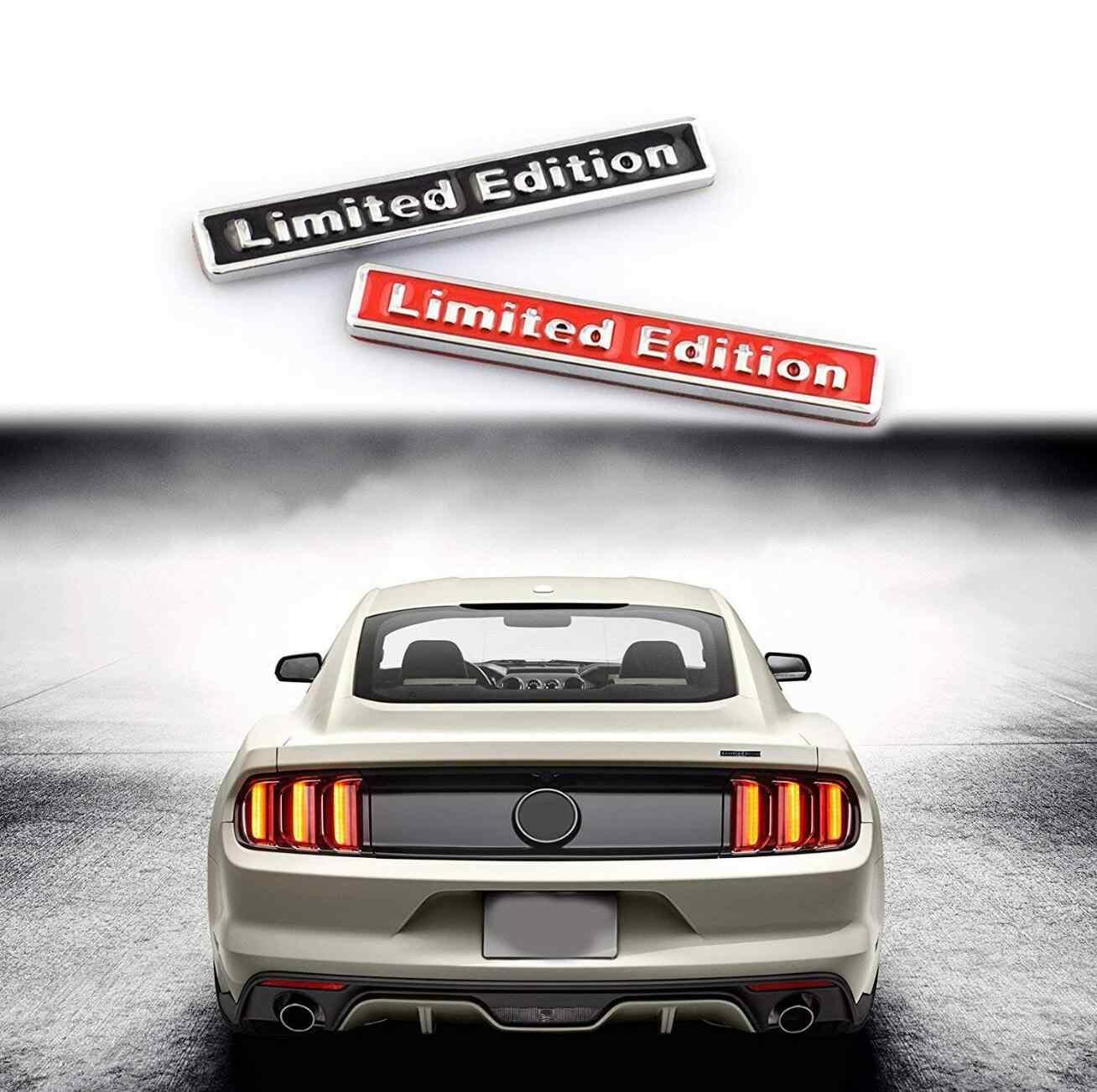 3D métal édition limitée Auto voiture autocollant Badge décalcomanie moto autocollants Chrome emblème pour A4L A6L Q5