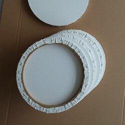 Fábrica al por mayor estilo europeo círculo elíptico pintura al óleo marco diámetro 30 Cm puro algodón pintura al óleo lienzo especial Sha