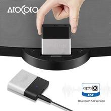 Bluetooth Aptx Adapter Receiver Transmitter 3.5mm AUX Jack for Bose Headphone Speaker Motorcycles 30 pin Music Docking Station