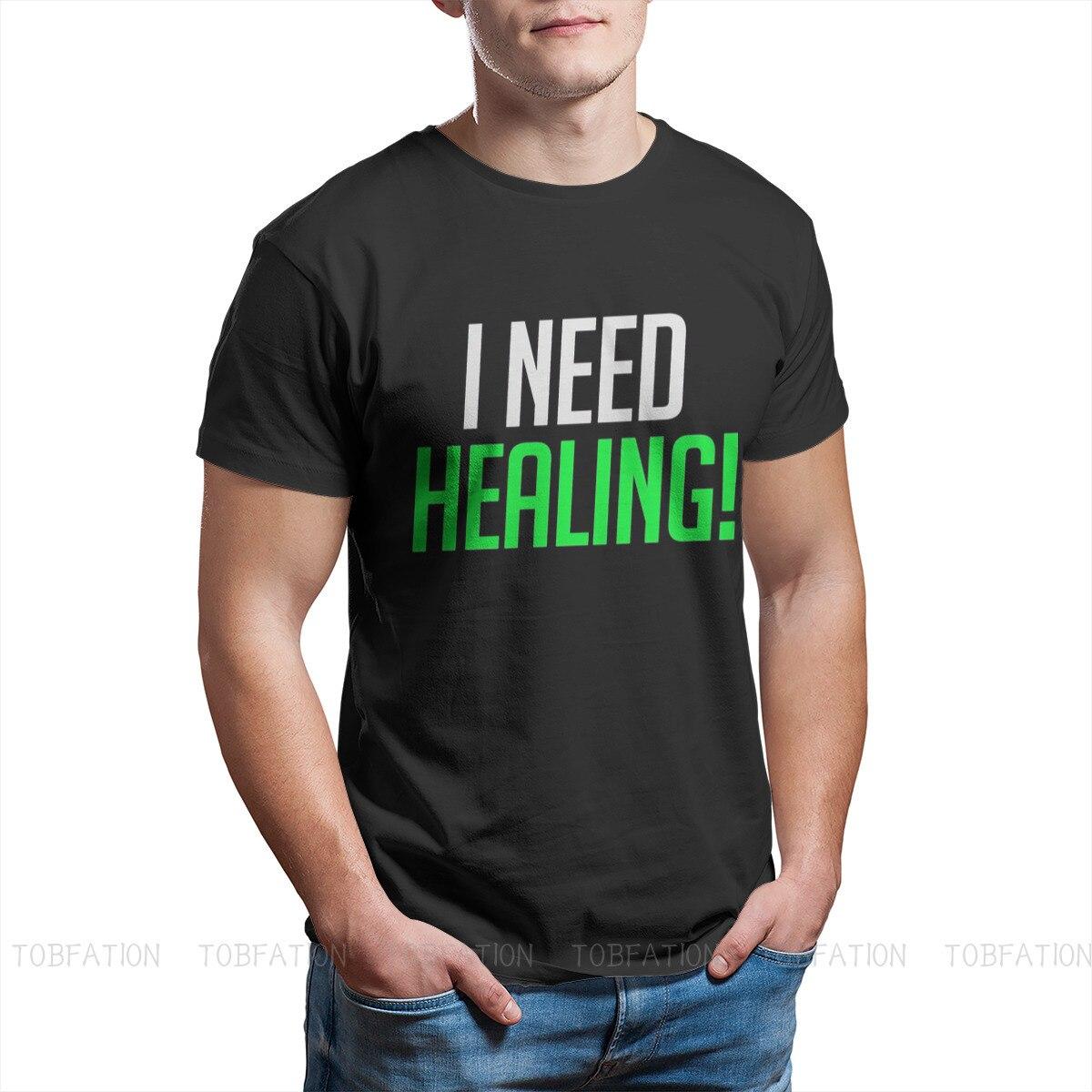I Need Healing! Unique TShirt Overwatch Comfortable Hip Hop Gift Idea  T Shirt Short Sleeve Hot Sale 4