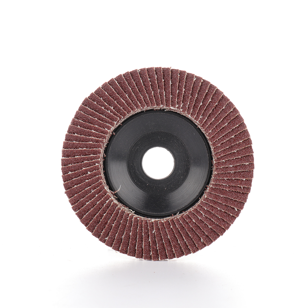 100x8mm Quick Change Sanding Flap Abrasive Polishing Disc Grinding Wheel For Grit Angle Grinder 60 Grit For Wood Metal Polishing