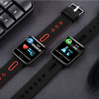 BINSSAW Bluetooth Smart Watch Men  With Touch Screen Big Battery Support TF Sim Card Camera for Android Phone Smartwatch+BOX