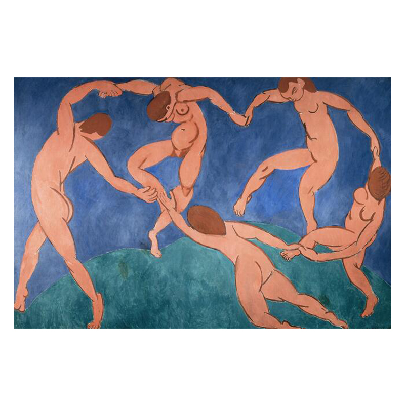 The Dance and Other Abstract Paintings by Henri Matisse Printed on Canvas 7