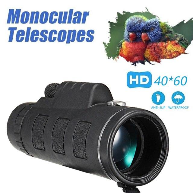 Портативный 40x60 телескоп на открытом воздухе прицелом мобильный