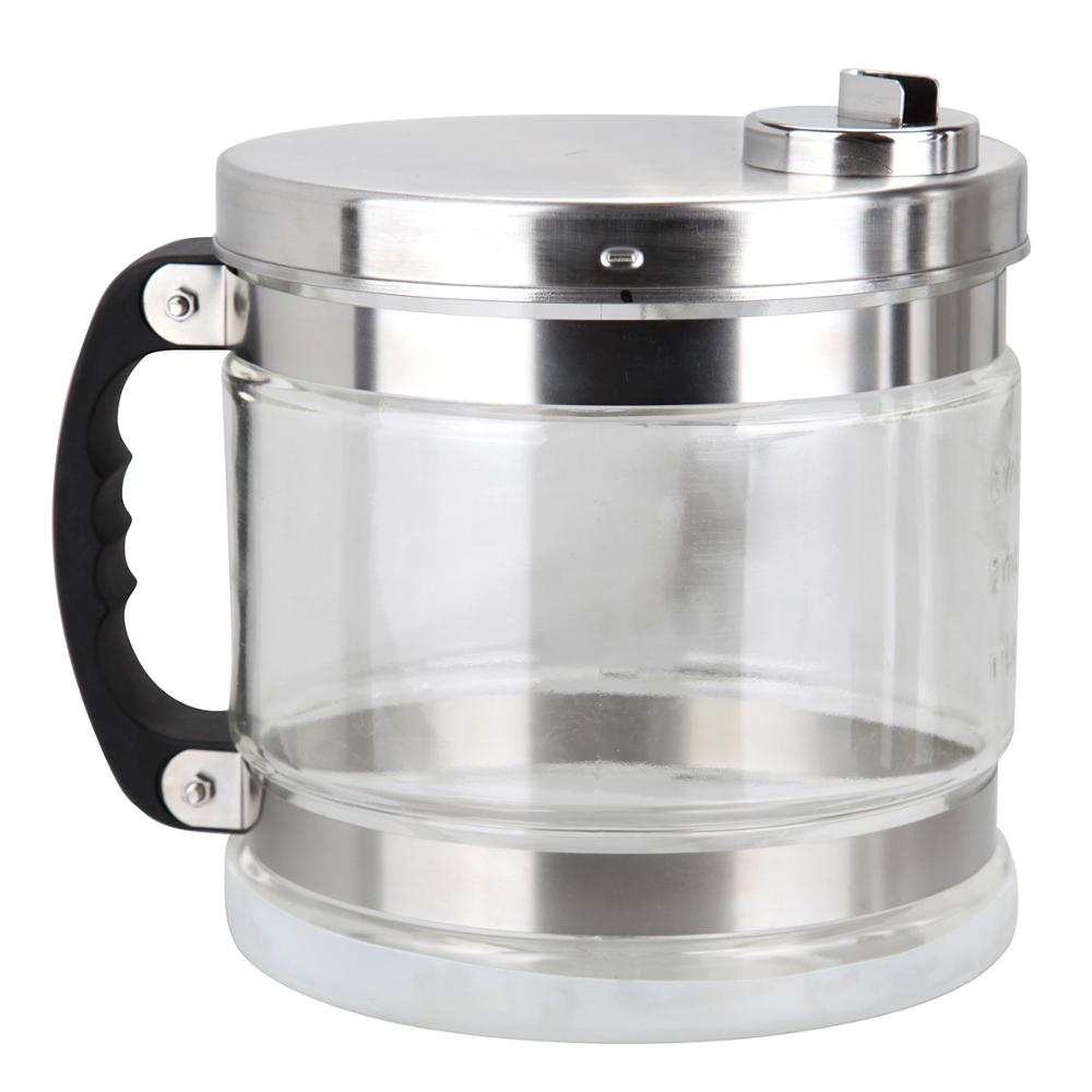 Yonntech 4L Water Distiller Stainless Steel Pure Water Purifier Filter with Jar 220V - 5